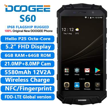 Doogee S60 -אנדרואיד 8 : image 1